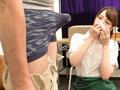 貧乳美人店員がコリコリに勃った乳首に気付かず働く姿 5-5