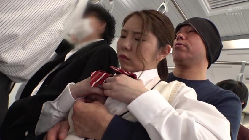 鬼畜痴漢にしつこく責められ連続イキさせられる巨乳女 画像 6