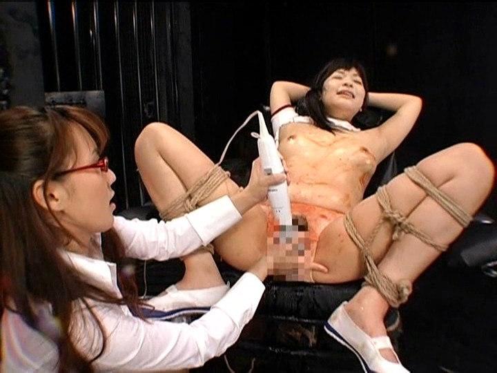 強制レズ 放課後女性徒狩り 吉沢みなみ 神崎レオナのサンプル画像11