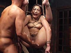 拷問・肉達磨 神納花:緊縛