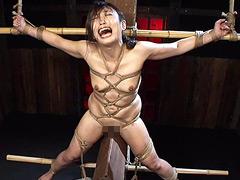 処刑拷問 神納花:緊縛