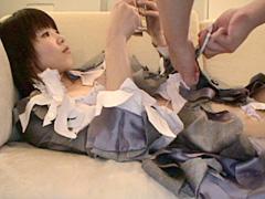 切り裂かれる女01