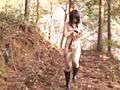マゾ女野外露出SM 飲尿便器女