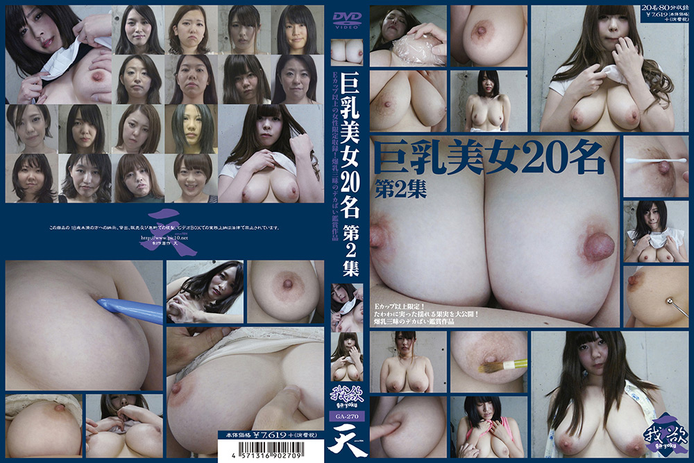 おっぱい:巨乳美女20名 第2集