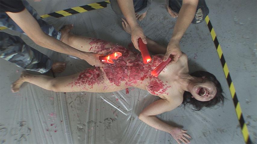 奴隷吊り人形 三角木馬責めに蝋燭地獄のサンプル画像