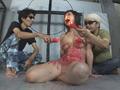 奴隷吊り人形 三角木馬責めに蝋燭地獄のサムネイルエロ画像No.6