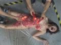 奴隷吊り人形 三角木馬責めに蝋燭地獄のサムネイルエロ画像No.7