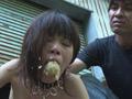 奴隷契約 野外浣腸・蝋燭水責め-6