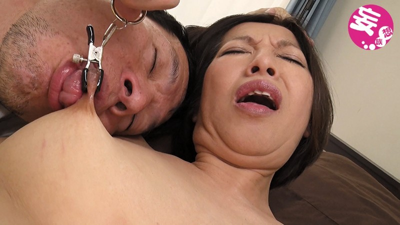 伸びる長乳首熟女 筒美かえで 56歳 画像 5