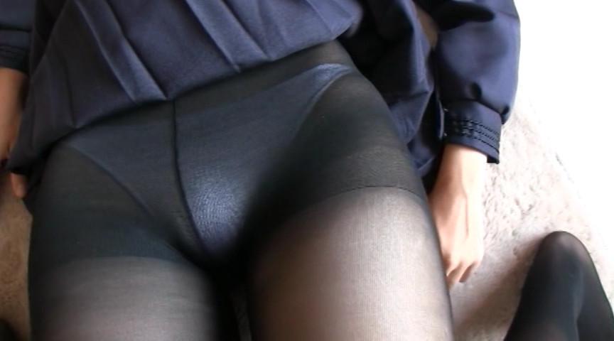 女子校生と黒タイツ 画像 18