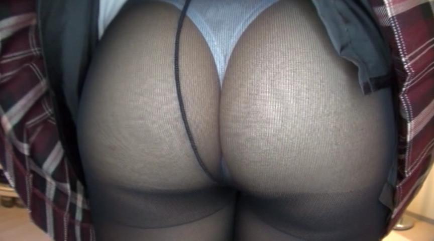 淫語とパンモロ女子校生 美山ゆずのサンプル画像