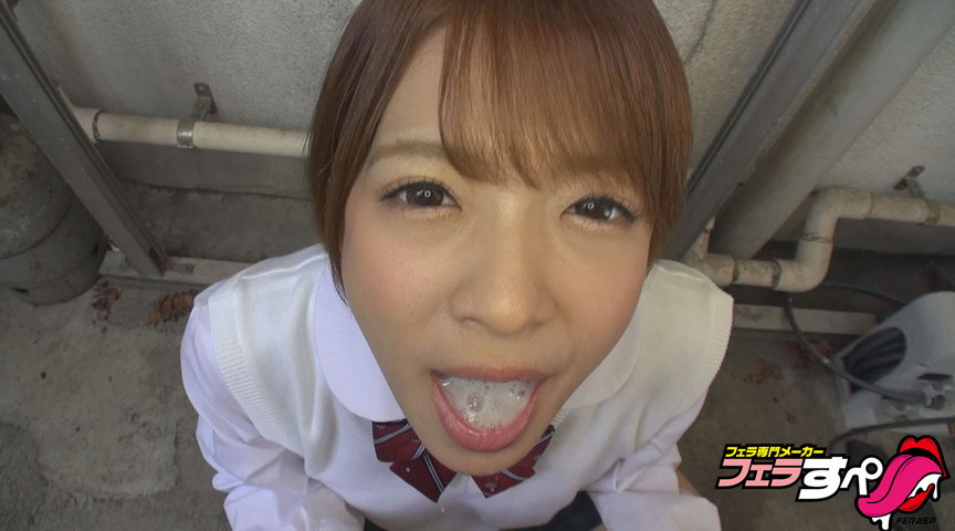【フェラすぺ】ちんシャブ乙女倶楽部 フェラ3連発女子校生 麻里梨夏 の画像1