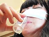 犬嗅ぎ ガチ素人美魔女 ツバ臭い垂れ乳勃起乳首1