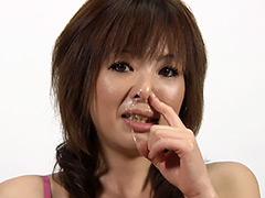 フェチ:くしゃみ鼻水、美女の鼻。THE観察