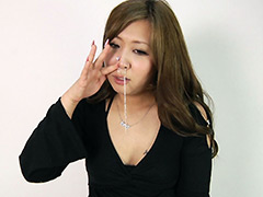 フェチ:ギャル くしゃみ鼻水観察