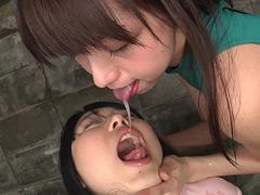 【ゆい動画】痰つぼ肉便女-「1本の電話」-レズビアン