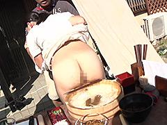 【スカトロ動画】ハプニング-リポート中に脱糞!-隠れ名店編