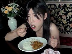 【スカトロ動画】自画撮り食糞うんこカレー!4