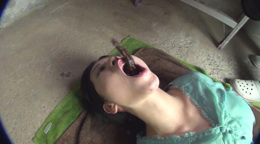 スカトロ!むせかえる食糞便器女2 の画像4