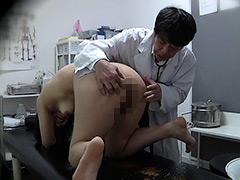 【スカトロ動画】盗撮-診察で騙されて羞恥浣腸!5-脱糞