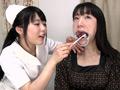 銀歯観察レズ 小室優奈&川越ゆいのサムネイルエロ画像No.3