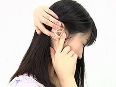 フェチ:耳フェチ!耳穴観察 高木愛美