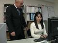 葵千恵ちゃんの口臭嗅がせ手コキ-0
