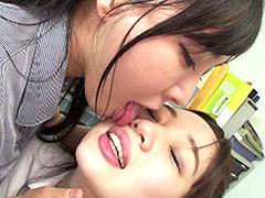 【羽生ありさ動画】顔面舐め合いレズビアン-羽生ありさ-斉藤みゆ -レズビアン