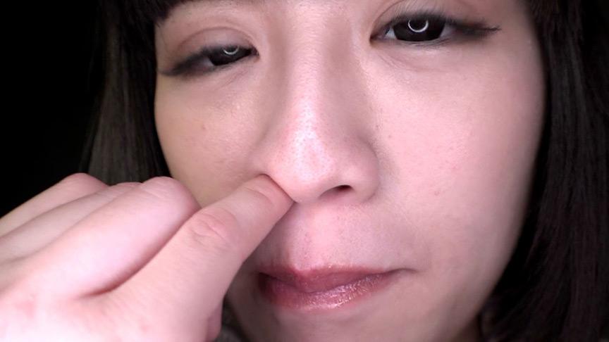 鼻観察・くしゃみ鼻水 葉月もえ 1枚目