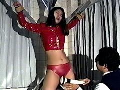 松下一夫のくすぐりワールド 女スパイ公開拷問丸秘取材2