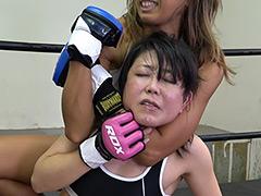 悶絶総合格闘技001 川崎優vs神崎まゆみ