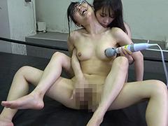 「悶絶リベンジレズバトル001 真木今日子vs浅倉真凛」のパッケージ画像