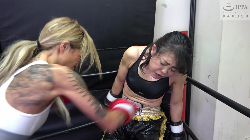 IdolLAB | fightingscene-0018 「悶絶キックボクシング004 神崎まゆみvs鮫島るい 」