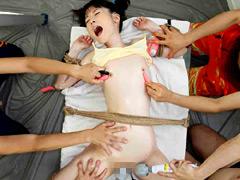 勃起クリトリス 少女限定 拘束拷問 裏サークル