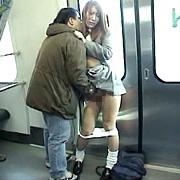 JK限定痴漢電車 上巻|人気の素人動画DUGA