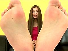 美少女の足裏15