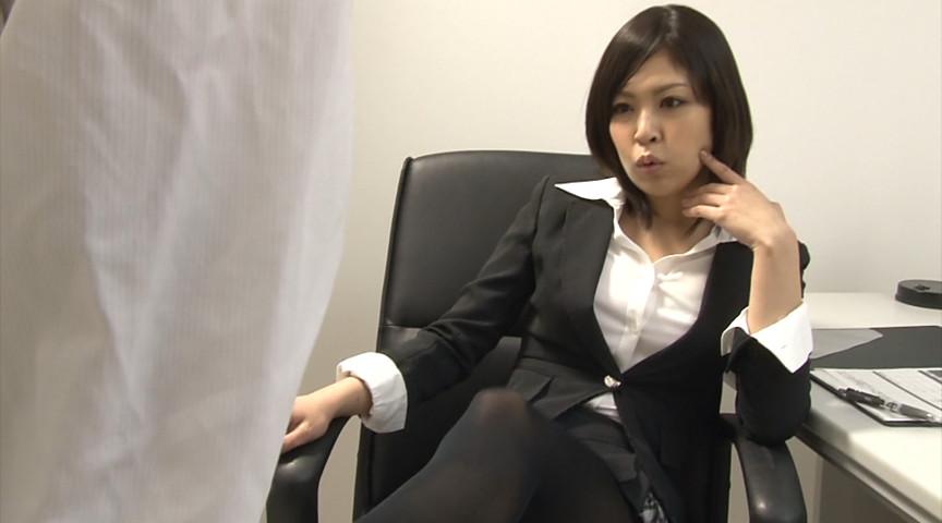 美脚オフィスレディー 魅惑のストッキング 画像 1