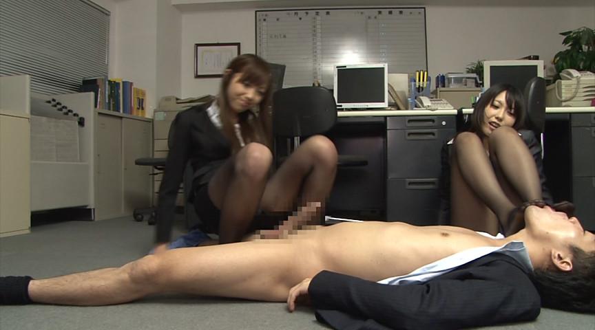 美脚オフィスレディー 魅惑のストッキング 画像 11