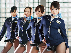 CA候補生によるアナル就航 東京発-地獄行き