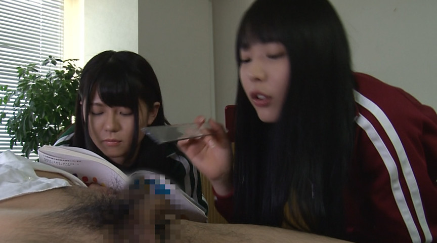 短小・包茎・射精 男性器に興味津々の少女達のサンプル画像9