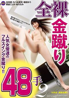 全裸金蹴り48手2