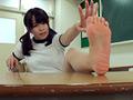 [freedom-0604] 自分で自分の足の裏を撮影した女の子。