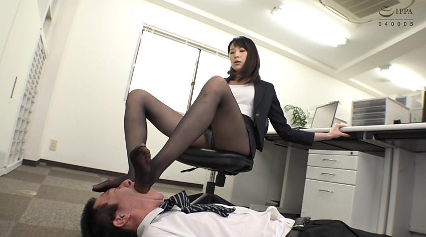 私の足のニオイを嗅ぎなさい!! 画像 9