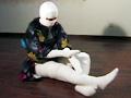包帯緊縛 柔肉匂う白い美女のサムネイルエロ画像No.8