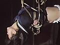 縛られた女学生・夜のベランダ拷問