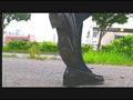 【復刻版】ザリガニが踏みにじられ自転車に轢き殺される-3