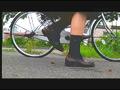 【復刻版】ザリガニが踏みにじられ自転車に轢き殺される-8