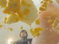 汚い足で仁王立ちで黙々と卵を踏みつぶすJKのサムネイルエロ画像No.6