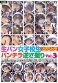 生パン女子校生パンチラ逆さ撮り Vol.3