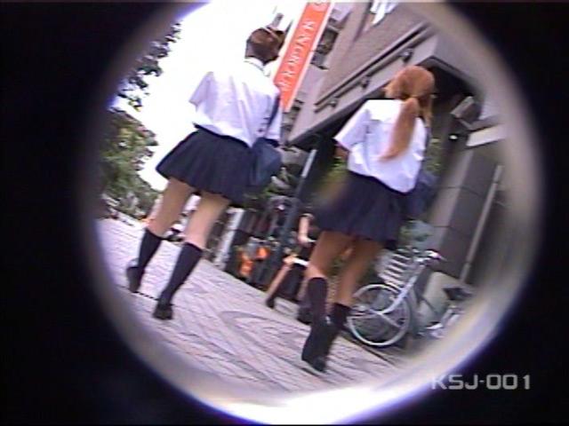 風よ!スカートへ! 女子校生のパンツを狙え! Vol.1 の画像1